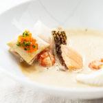 Kräftige Fischsuppe & Herbstliches Lamm!